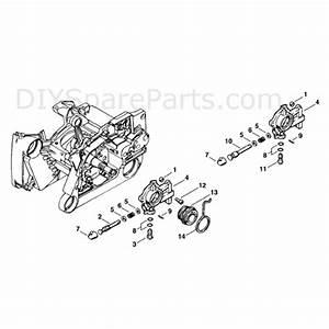Stihl Ms 660 Chainsaw  Ms660 W  Parts Diagram  Oil Pump