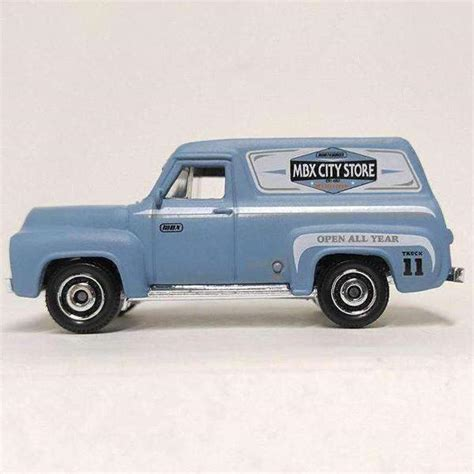 Matchbox '55 Ford F-100 MBX City 2016 Store Delivery Truck ...