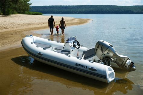 Inflatable Boat Tender by Brig Rigid Inflatable Boats Canada F330 Falcon Tenders