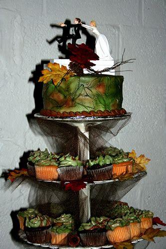 awesome hunting wedding cakes