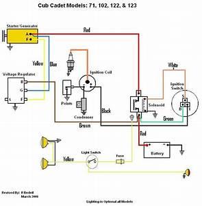 Cub Cadet 128 Wiring Diagram