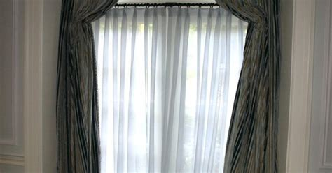 arched window treatments glamorous curtains for high