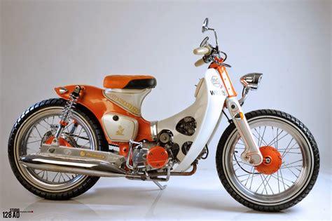 Modifikasi Honda Supra by Honda Supra X 125 Modifikasi Touring Thecitycyclist