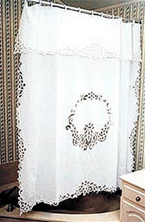 Battenburg Lace Curtains Ivory by Battenburg Lace Shower Curtain Only Ecru Color Available