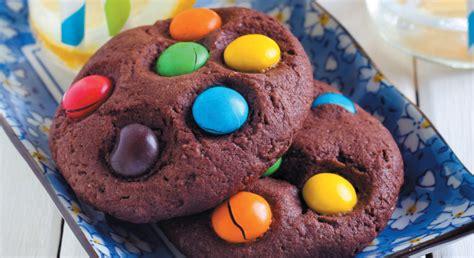 cookies smarties recette facile enfant gourmand