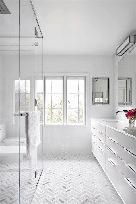 bright white bathrooms modern master bathroom