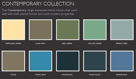 Color Palette Contemporary - Lentine Marine
