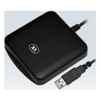 A mobile credit card reader is a mechanism (sometimes called a dongle) that is attached to a smartphone or tablet that allows the device to read. ACS ACR39U USB Smart ID Card Reader Buy, Best Price in ...