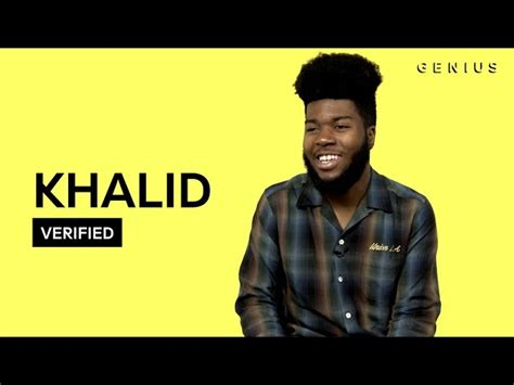 Khalid Saved Official Meaning Lyrics Verified