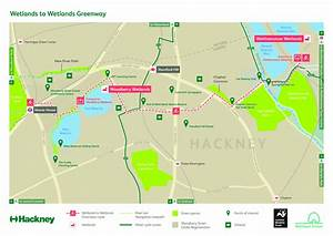 Vote For New Walk And Cycle Route Connecting Hackney And Walthamstow