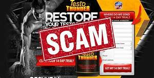 Is The Testo Thunder Testosterone Booster A Scam  Review Inside