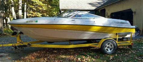 Four Winns Boat Canvas by Four Winns 180 Horizon Rx 1998 For Sale For 6 800 Boats