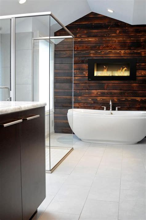 cozy  mesmerize bathrooms  fireplaces home