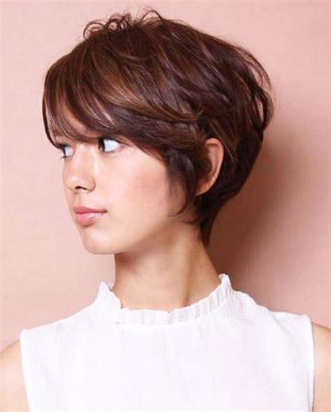 cute style demam isu model rambut pendek perempuan