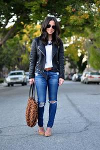 Ripped Jeans + Leather Jackets - Crystalin Marie