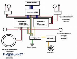 2 Amp Car Audio Wiring Diagram