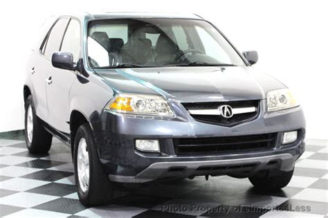 Acura Suv Used by 2006 Used Acura Mdx Mdx Awd 7 Passenger Suv At