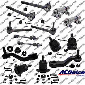 Front End Steering Kit Tie Rod Ball Joint For 2wd