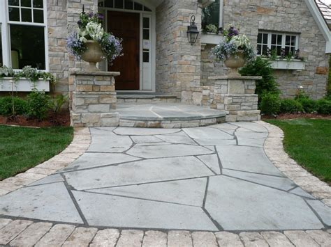 patio styles patio flooring ideas budget inexpensive patio ideas showing round stone patio flooring in