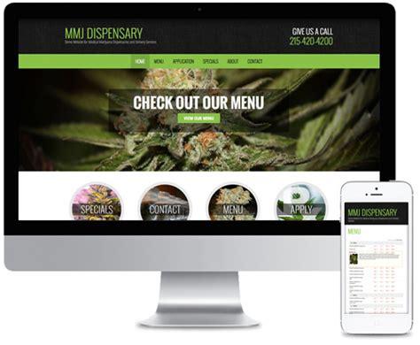 dispensary website design sensites