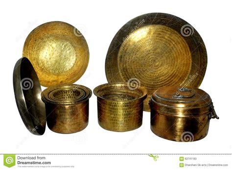 brass utensils royalty  stock photography cartoondealercom