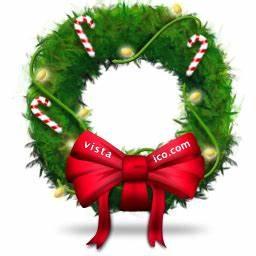Christmas Wreath Icon, PNG ClipArt Image | IconBug.com