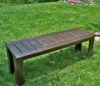 how to build a wood bench Ana White | Build a Build a Simple Outdoor Bench | Free and Easy DIY Project and Furniture Plans