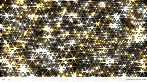 Animated Glitter Wallpaper - glitter background loop gold and silver lens flare stock