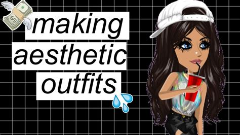 Making aesthetic outfits || msp ud83dudcde - YouTube