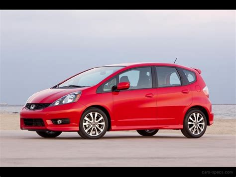 Honda Fit Mpg by 2012 Honda Fit Hatchback Specifications Pictures Prices