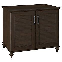 Office Depot Kona by Kathy Ireland Office Volcano Dusk 2 Door Cabinet Kona
