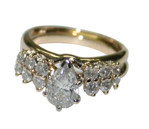 14k yellow gold 1 41ct diamond women s engagement and