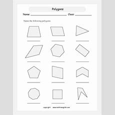Names Of Polygons  Name Regular And Irregular Polygons Count The Sides And Angles Things