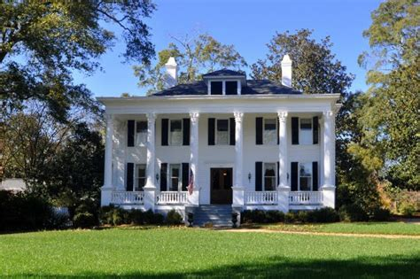 revival house whitehaven greek revival architecture in madison ga