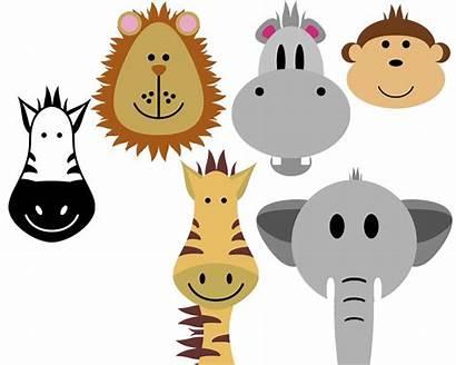 Safari Clip Animals