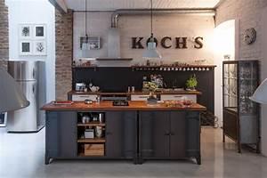 Küche Vintage Style : h lzerne k cheninsel bilder ideen couch ~ A.2002-acura-tl-radio.info Haus und Dekorationen