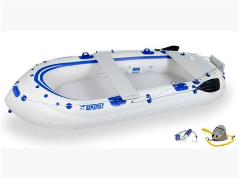 Fishing Boat And Motor Packages by Sea Eagle 9 Inflatable Fishing Boat Package Oak Bay Victoria