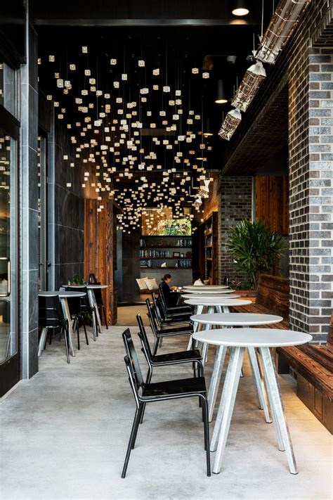 See more ideas about seattle coffee shops, seattle coffee, seattle. Lucille on Roosevelt - Hive 68th & Roosevelt   Cafe tables, Light installation, Building concept