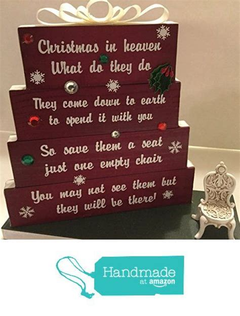 christmas  heaven save   seat  empty chair