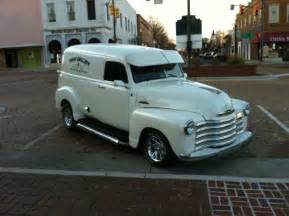 Rare 1953 Chevy 3100 Panel Truck With All Real Wood