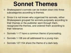 Shakespeare Sonnet 116 Theme