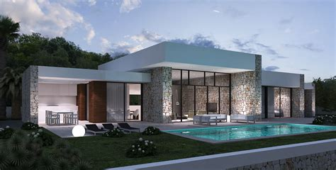 grundriss villa modern luxus villa cecile moderne spanische villa mit pool lifestyle homes ag