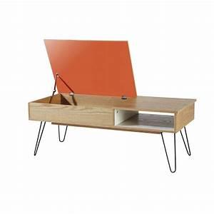 Table Basse Bois Et Metal : table basse vintage en bois et m tal twist the blog d co ~ Dallasstarsshop.com Idées de Décoration