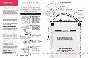 Homemade Face Mask Template  Use Our Step