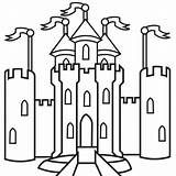 Castle Drawings Library Clipart Clip Castles sketch template
