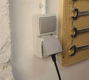comment installer un interrupteur et une prise etanches With installer prise electrique exterieure