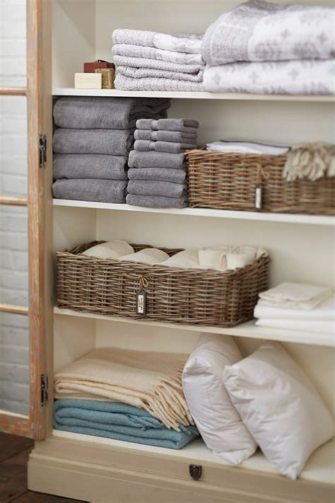 How To Organize A Linen Closet  How To Decorate