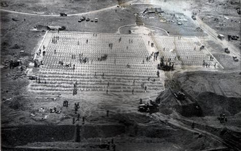 Early Iwo Jima Marine Cemetery Photo