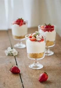 Individual No-Bake Cheesecake Pretty Simple Sweet