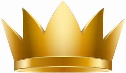 Crown Clip Golden Clipart Crowns Yopriceville Queen
